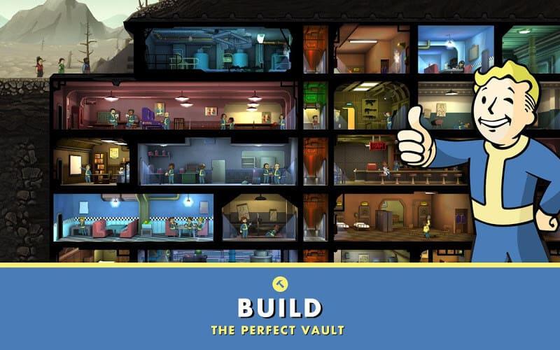 تحميل fallout shelter مهكرة