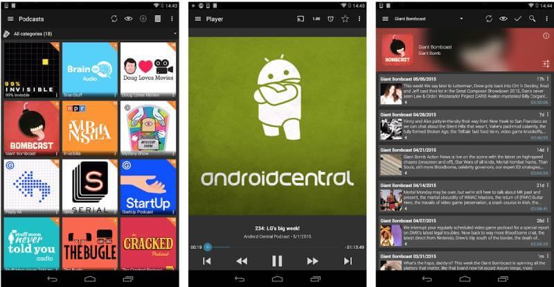 تحميل تطبيق Podcast Addict مجانا للأندرويد - موقع بديل آب